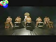 taiko japanstraditional drum fucking line asian group sex public nudity