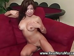 japanese girl masseuse swelling massage masseur hand gig jerking masturbating