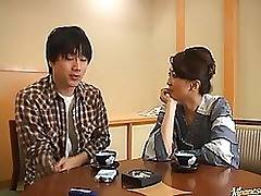 shiori endou captivating japanese school tutor blowjob cumshot hardcore milf