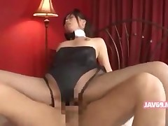 boobs fucking hardcore pussy asian japanese jav oral riding stockings