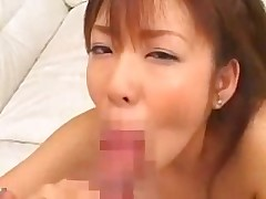 amateur big cock blowjob asian pov