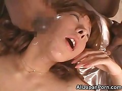 cumshot fucking black facial group japanese