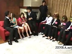 asian fetish friends group japanese oral party stripping weird tease