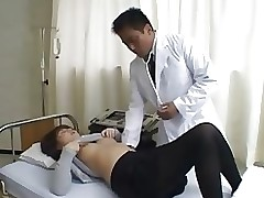 eastern doctor gate asian brunette uniform