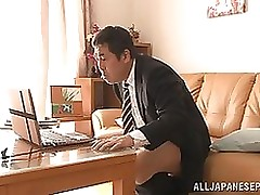 naughty japanese milf akiho yoshizawa ache advisor blowjob hardcore facial