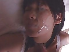 compilation japanese facial angels asian cumshots facials