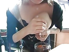 public lactation coffee shop byspyro1958 asian nipples tits