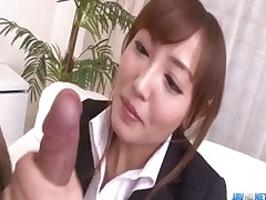 mami asakura office adventure boss cum pussy licking sexy sucking
