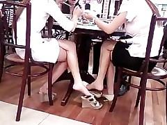 chinese shoe dangling comp shoeplay foot fetish asian sexy