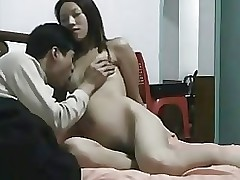 enchanting chinese pair having copulation homemade asian sex tape wife