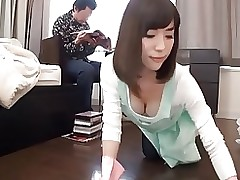 woman slave helps cleaning greater quantity censored ctoan asian creampie