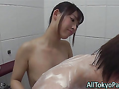sex cream eating japanese queen hd japan asian asians handjob