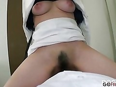 oriental mei hardcore natural boobs curly meatballs dick engulfing sucking