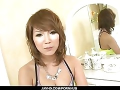 vast tits akiho nishimura swallows subsequently garsh love making javhd