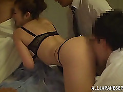 shocking japanese beauty minori hatsune damp milf mmmf group cumshot