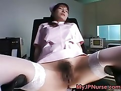 ann nanba pleasant chinese nurse widens asian brunette fetish hairy