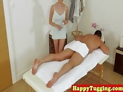 japanese masseuse pampering ding dong cumshot handjob amateur asian asiansex